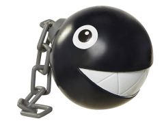 "World of Nintendo 2.50"" Limited Articulation Figure - Chain Chomp"
