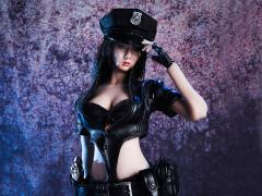 COS Policewoman Uniform (Black) 1/6 Scale Accessory Set