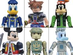 Kingdom Hearts Minimates Series 1 Two Pack Set of 3