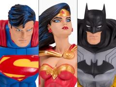 DC Designer Series Three Pack Collector Statue Set (Jim Lee)