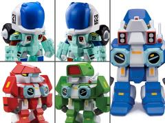 Robotech: The New Generation Box of 15 Super Deformed Figurines