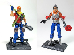 GI Joe The Final Twelve Psyche-Out & Tunnel Rat GI Joe Club 2018 Exclusive Set
