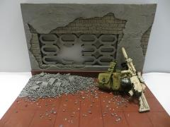 1/6 Scale Chris Kyle Display Base Ramadi Rooftop - Long