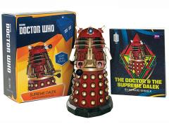 Doctor Who Supreme Dalek Figurine With Book
