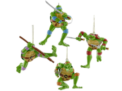 TMNT Retro Ornaments Box of 4