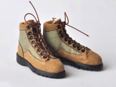 Military Boots (Desert Tan/Khaki) 1/6 Scale Accessory