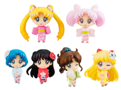 Sailor Moon Petit Chara! (Cherry Blossom Festival Ver.) Box of 6 Figures