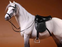 German Hanoverian Horse (White/Gray) 1/6 Scale Figure