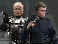 RoboCop MMS266 RoboCop (Battle Damaged Ver.) & Alex Murphy 1/6th Scale Collectible Figures Set + $100 BBTS Store Credit Bonus