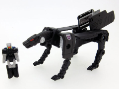 Transformers Legends LG37 Jaguar (Ravage) & Bullhorn