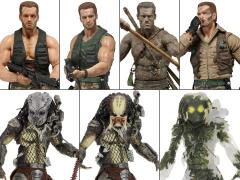 Predator 30th Anniversary Set of 7 Figures
