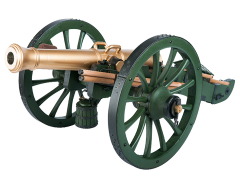 French Gribeauval 12-Pounder Cannon 1/6 Scale Replica