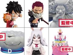 One Piece World Collectible Figure Vol. 3 Whole Cake Island Set of 6