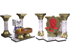 Cuphead Devious Dice & Devil's Throne Small Construction Sets