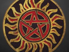 Supernatural Anti-Possession Symbol Doormat