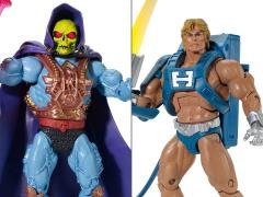 Masters of the Universe Classics Laser Power He-Man & Laser Light Skeletor (Club Eternia)
