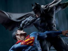 DC Comics Batman Vs Superman Diorama