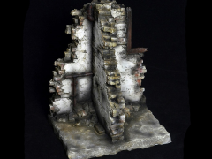 1/6 Scale Diorama Series - House Ruins Scene