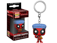 Pocket Pop! Keychain: Deadpool Bath Time
