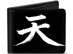 Street Fighter Akuma Symbol Bi-Fold Wallet (Assassin's Fist)