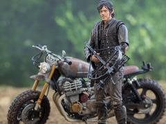 The Walking Dead TV Series - Daryl Dixon with New Bike Deluxe Boxed Set
