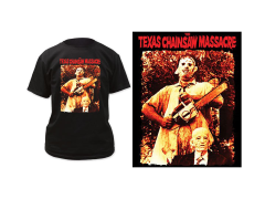 Texas Chainsaw Massacre Leatherface & Grandpa T-Shirt