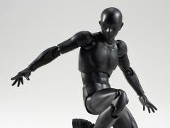 S.H.Figuarts Male Body Set (Solid Black)