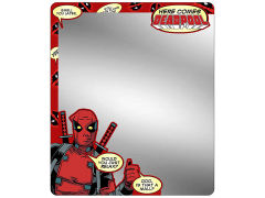 Marvel Here Comes Deadpool Locker Mirror