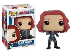 Pop! Marvel: Captain America: Civil War - Black Widow