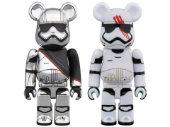 Star Wars Bearbrick Captain Phasma & FN-2187 Two Pack