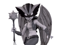 DC Artist Alley Hawkgirl (Black & White) Limited Edition Figure (Chrissie Zullo)