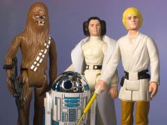 "Star Wars Kenner Jumbo 12"" Early Bird 4-Pack Figure Set"