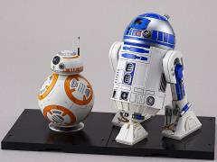 Star Wars BB-8 & R2-D2 1/12 Model Kit (The Force Awakens)