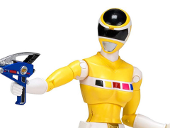 "Power Rangers In Space Legacy 6"" Yellow Ranger"