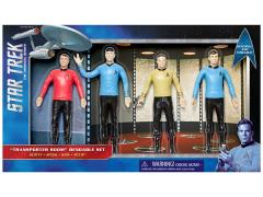 Star Trek: The Original Series Transporter Room Bendable Figure Box Set