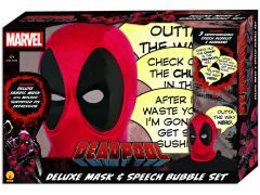 Marvel Deadpool Deluxe Mask & Speech Bubble Box Set PX Previews Exclusive (Without Comic Book)