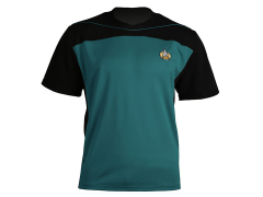 Star Trek: The Next Generation Shore Leave Collection Uniform Shirt (Sciences Teal)