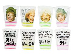 The Golden Girls Mini Glasses Set of 4