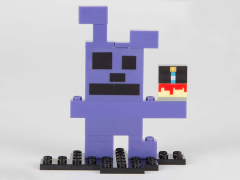 Five Nights At Freddy's 8-Bit Buildable Figure - Bonnie #12042