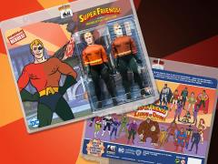 "Super Friends World's Greatest Heroes Aquaman (Universe of Evil) 8"" Retro Figure Two-Pack"
