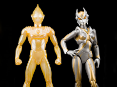 Ultraman ULTRA-ACT Glitter Tiga & Camearra Set Exclusive