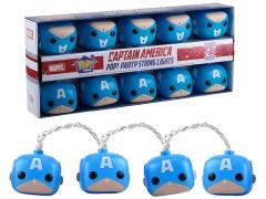Pop! Home: Marvel Party String Lights - Captain America
