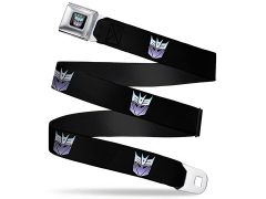Transformers Decepticon Logo (Fade) SeatBelt Buckle Belt
