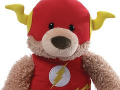 "DC Comics Stuffed Animal 12"" Plush - The Flash Blaze the Bear"