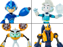 Mega Man: Fully Charged Basic Wave 1 Set of 4 Figures