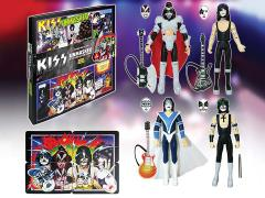 "Kiss Unmasked 3.75"" Action Figure Deluxe Box Set Exclusive"
