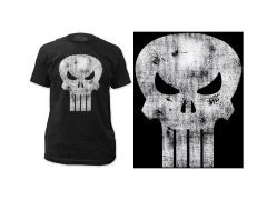Marvel Punisher Distressed Logo T-Shirt