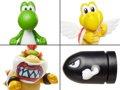 "World of Nintendo 2.50"" Wave 17 Set of 4 Figures"