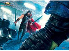 Thor: Ragnarok Thor vs Hulk MightyPrint Wall Art