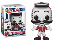 Pop! MLB: Mascots -  Mr. Redlegs (Reds)